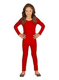 Langer Body für Kinder rot