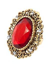 Large Ruby Ring