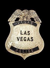 Las Vegas Police Abzeichen