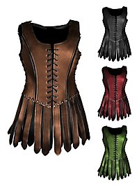 Leather armor - Gladiatress with straps