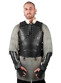 Leather Torso - Mercenary black