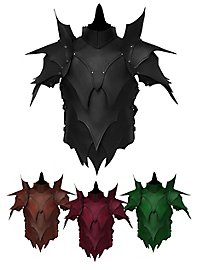 Leather Armour with shoulders - Dark Elf
