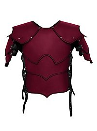 Leather Armour with shoulders - Warlord
