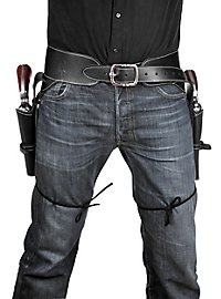 Leather Double Pistol Holster