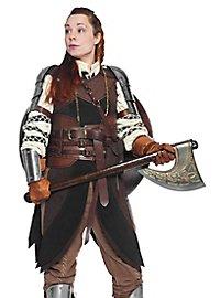 Leather jerkin - Dwarven woman