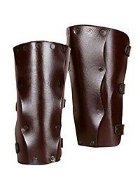 Greaves - Assassin brown