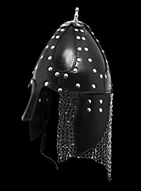 Leather Norman Helmet