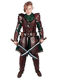 Leather Pauldrons - Dragon Warrior