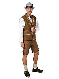 Leather Vest brown