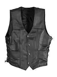 Leather Waistcoat Walking Daryl