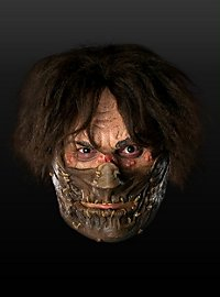 Leatherface mit Maulkorb Maske aus Latex
