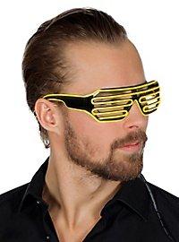 LED Brille gelb