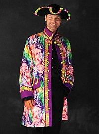 LED coat for men colorful