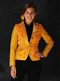 LED jacket for ladies gold