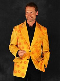 LED jacket for men gold