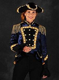 LED uniform for ladies blue