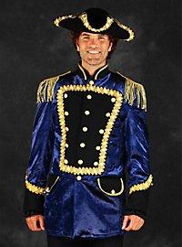 LED uniform for men blue