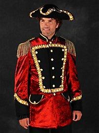 LED uniform for men red