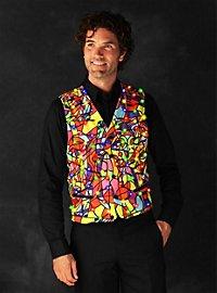LED vest for men colored