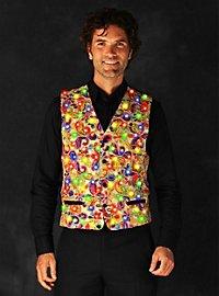 LED vest for men gold