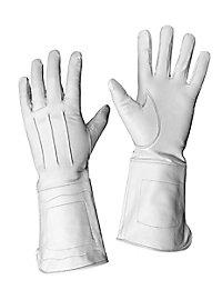 Lederhandschuhe weiß