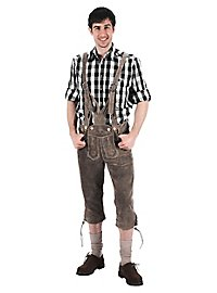 Lederhosen knee-length green