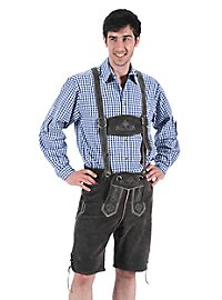 Lederhosen short gray