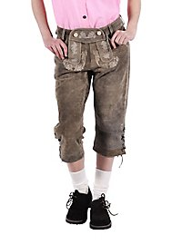 Lederhosen Women knee-length green