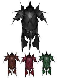 Lederrüstung mit Schultern und Beintaschen - Dunkelelf