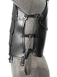 Lederrüstung - Söldner Torso (schwarz)
