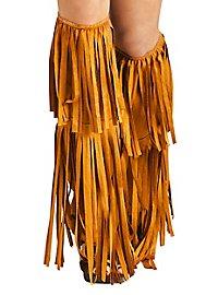Leg warmers fringes