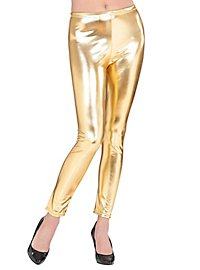 Leggings Wetlook gold