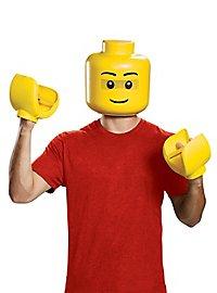 Lego Figur Maske und Hände