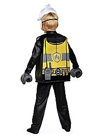 Lego fireman children costume