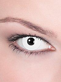 Lentille de contact correctrice blanche