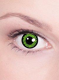 Lentille de contact correctrice iris vert