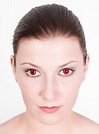 Lentille de contact correctrice rouge