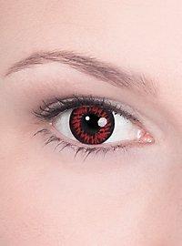 Lentilles de contact loup sanguinaire