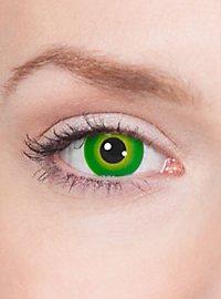 Lentilles de contact mutant vert