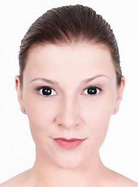 Lentilles de contact œil noir
