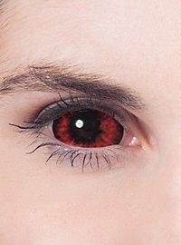 Lentilles de contact Sclera rouges
