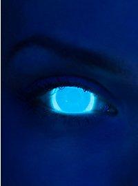 Lentilles de contact UV bleu clair