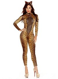 Leopard Cat Suit & Headband