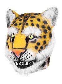 Leopard Maske aus Latex