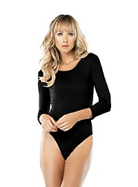 Leotard opaque black