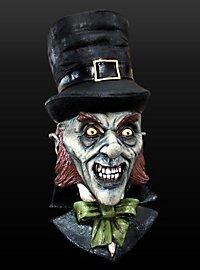 Leprechaun Maske aus Latex
