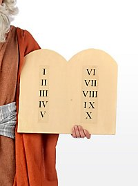 Les tables de la loi de Moïse