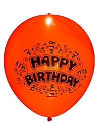 Leucht-Luftballons Happy Birthday