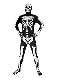 Leuchtender Morphsuit Skelett Ganzkörperkostüm