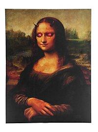 Leuchtportrait Dämona Lisa